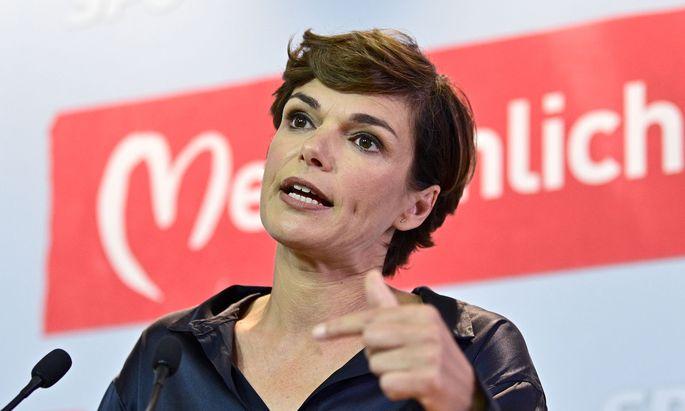 SPÖ-Chefin Pamela Rendi-Wagner plädiert für eine Extra-Pension für Eltern