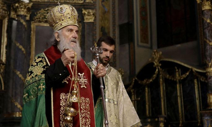 Der 90-jährige Patriarch Irinej ist tot.