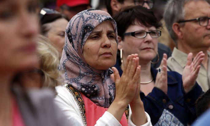 Interreligiöses Gedenken in Frankreich