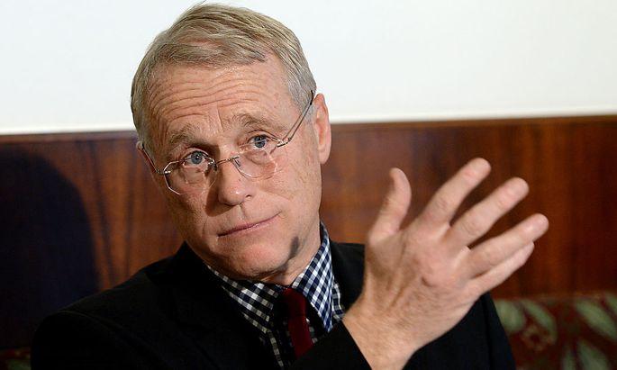 Milizverbands-Präsident Michael Schaffer