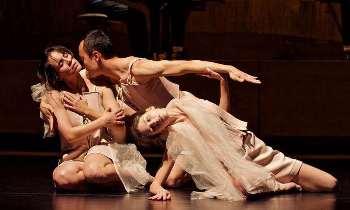 Zeitgenössischer Tanz und Ballett bilden die zentrale künstlerische Ausbildung im Bachelorstudium der Bruckner-Uni.