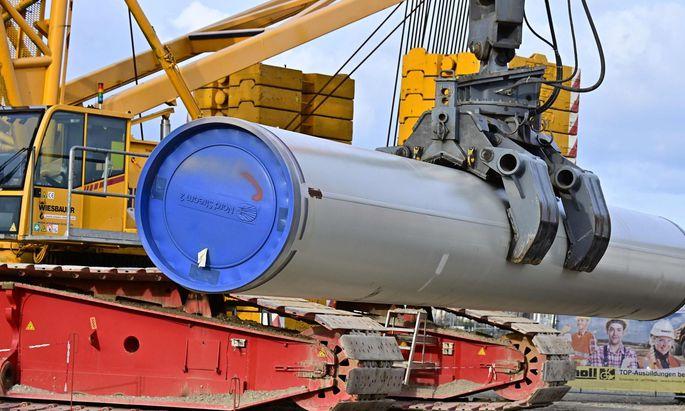 Die Debatte um mögliche Strafmaßnahmen gegen Russland fokussiert sich auf die fast fertige Pipeline Nord Stream 2