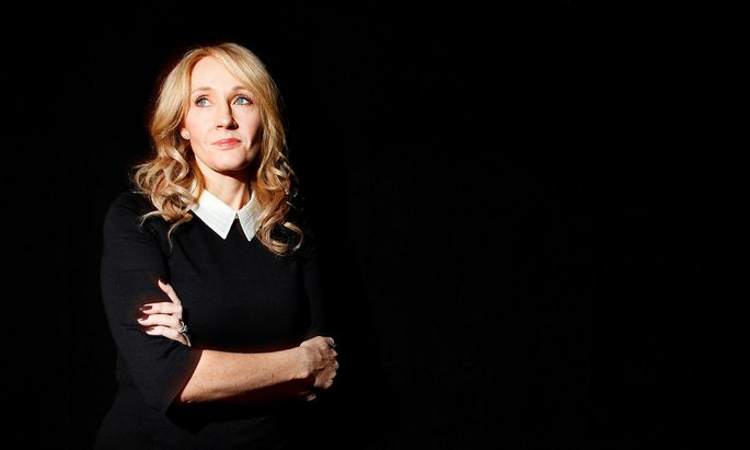 FILE PHOTO: Author J.K. Rowling poses for a portrait in New York, USA
