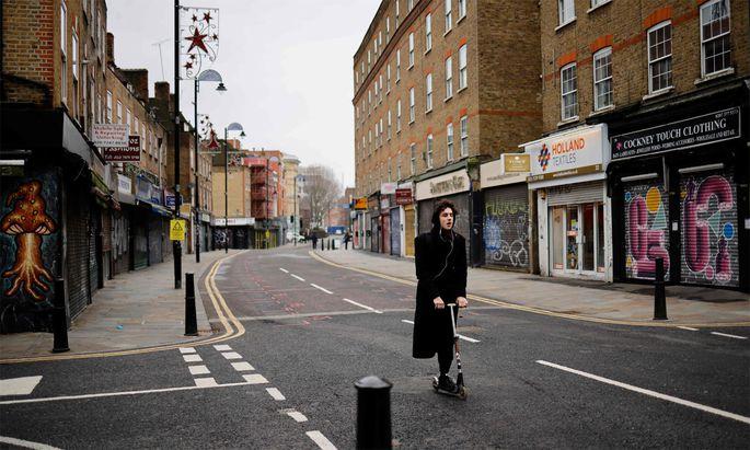 Die Straßen in London sind nicht nur wegen Corona leerer geworden.