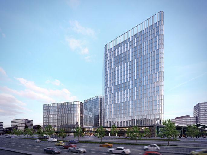 DIe Allianz Real Estate erwarb das Bürogebäude The Icon Vienna.