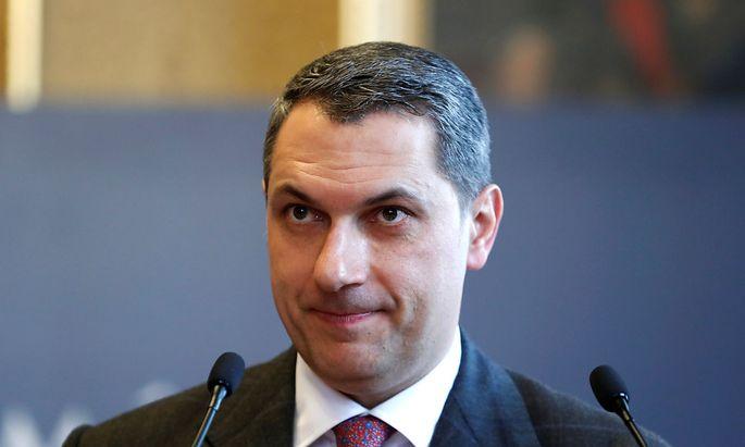 Der ungarische Kanzleramtsminister Lazar