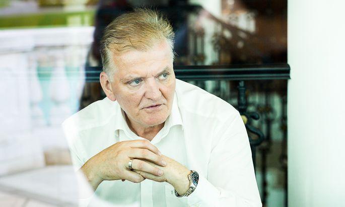 """Kündigungen in der SPÖ? """"Der Umgang mit den Mitarbeitern regt mich irrsinnig auf"""", sagt Landesparteichef Franz Schnabl."""