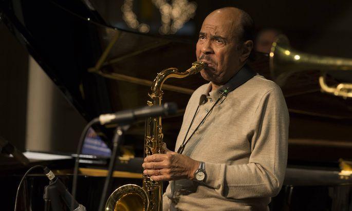 Jazzveteran Benny Golson (Archivbild).