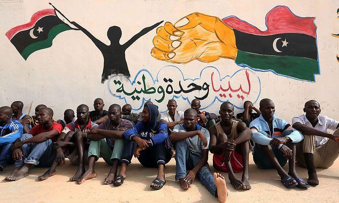 Viele gehen nach Libyen, um dort zu arbeiten.