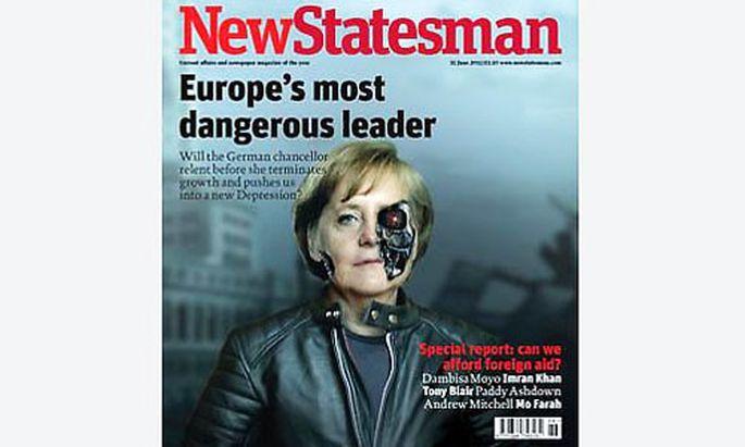Merkel Gefaehrlichste deutsche Politikerin