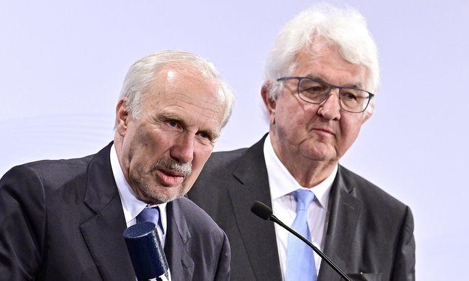 Führungswechsel in der Nationalbank: Ewald Nowotny wird von Robert Holzmann abgelöst