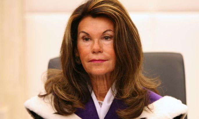 VfGH-Vizepräsidentin Brigitte Bierlein führte den Vorsitz