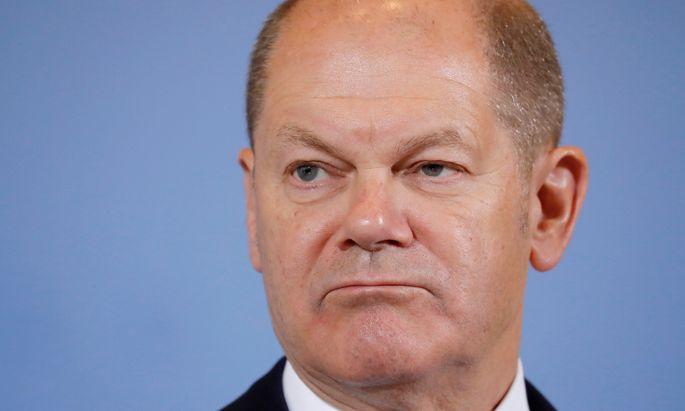 Der deutsche Finanzminister Scholz braucht Geld für die geplante Grundrente.