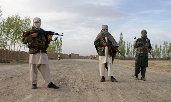 Plötzlich neue Freunde in Moskau? Talibankämpfer in der afghanischen Provinz Ghazni.