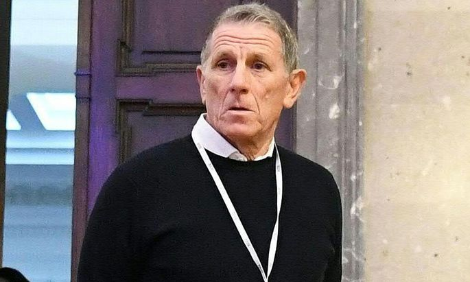 Peter Hochegger im Großen Schwurgerichtssaal