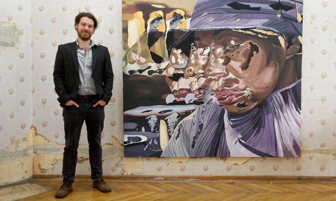 Christian Bazant-Hegemark in seinem Alsergrunder Atelier.