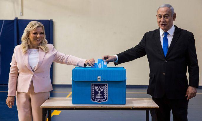 Für Benjamin Netanjahu und seine Frau, Sara, ging es bei der Wahl auch darum, privates Ungemach abzuwenden.