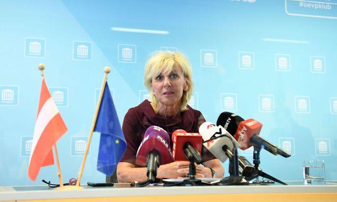 Die stellvertretende ÖVP-Generalsekretärin Gaby Schwarz