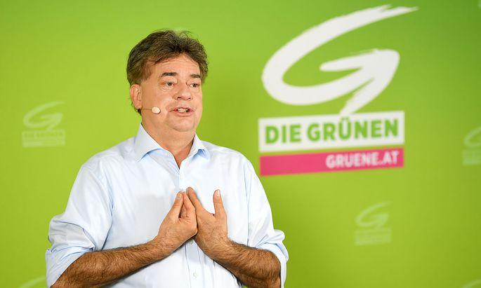 Der Bundessprecher der Grünen, Werner Kogler.