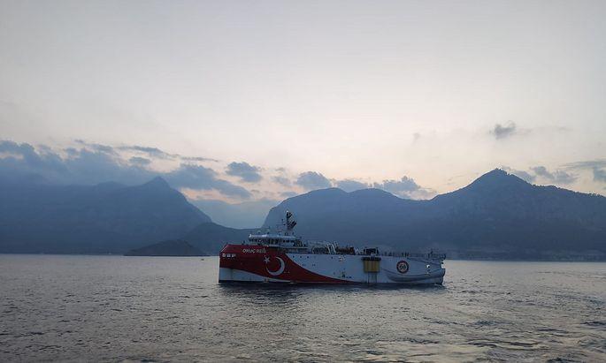 Streit über türkische Erdgasbohrungen: Macron verstärkt Frankreichs Präsenz im östlichen Mittelmeer