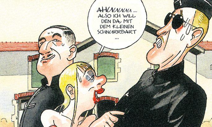 Comic, Krimi