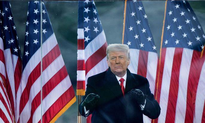 Donald Trump geht schwer angeschlagen aus dem zweiten Verfahren zur Amtsenthebung gegen ihn