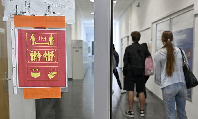 Der Lockdown betrifft auch die Berufsschulen.