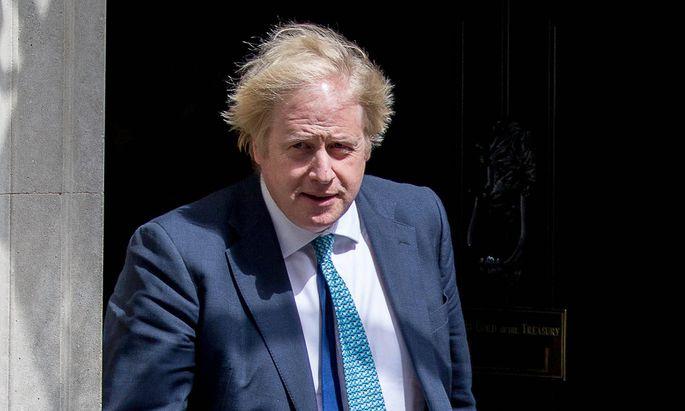 Boris Johnson, äußerlich ganz der Alte.