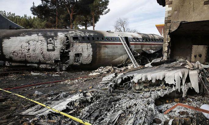 War ein Pilotenfehler Grund für den Absturz?