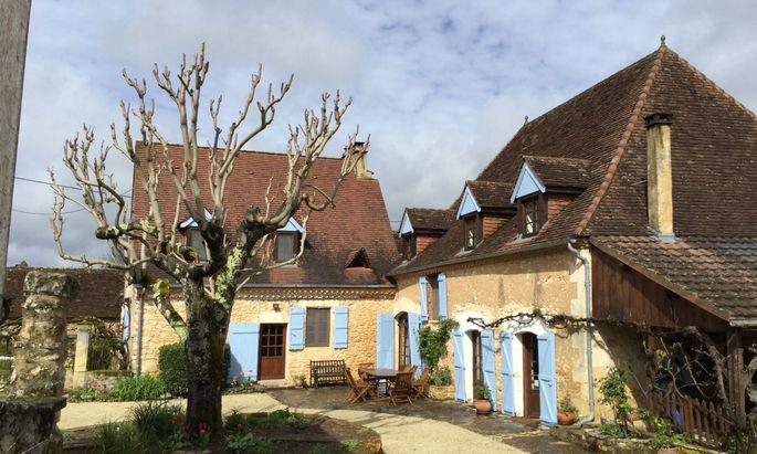 Der Wohnsitz Martin Walkers im Südwesten von Frankreich.