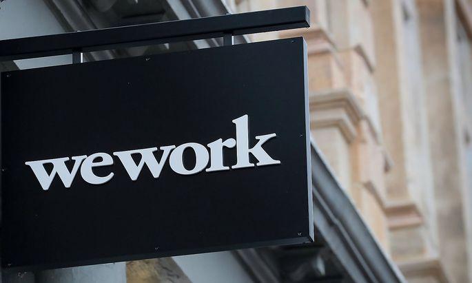 Logo von WeWork in New York City