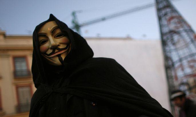 Anonymous Sony verdaechtigt Hackergruppe