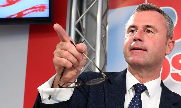 Der Dritte Nationalratspräsident Norbert Hofer (FPÖ)