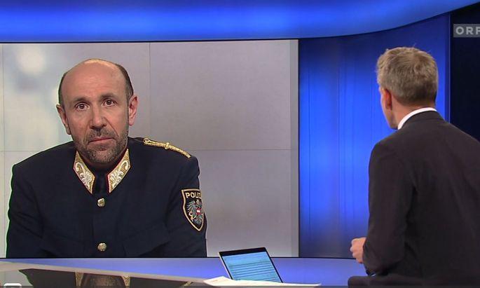 Sicher auch für ihn keine ganz einfache Zeit: Franz Ruf, Generaldirektor für die öffentliche Sicherheit.