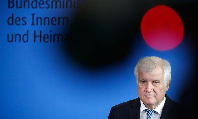 Horst Seehofer erneut im Fokus der Medien.