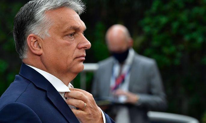 Premierminister Orbán inszeniert sich als Beschützer ungarischer Minderheiten in Rumänien und der Slowakei.