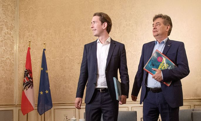 AUSTRIA -. POLITIC - KURZ - KOGLER - ELECTIONS - GOVERNMENT