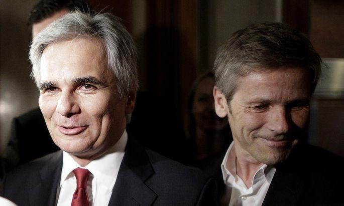 Inserate: Verfahren gegen Faymann und Ostermayer eingestellt