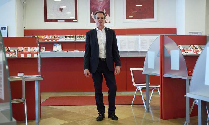 Michael Opriesnig ist seit 1. Juli 2019 Generalsekretär des Roten Kreuzes.