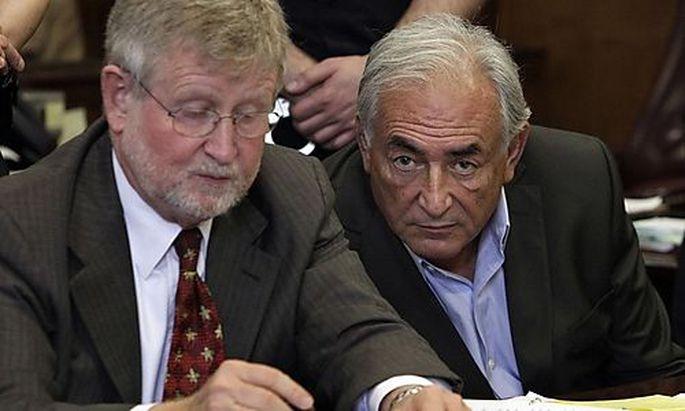 Strauss-Kahns Anwälte werfen Polizei Info-Leck vor