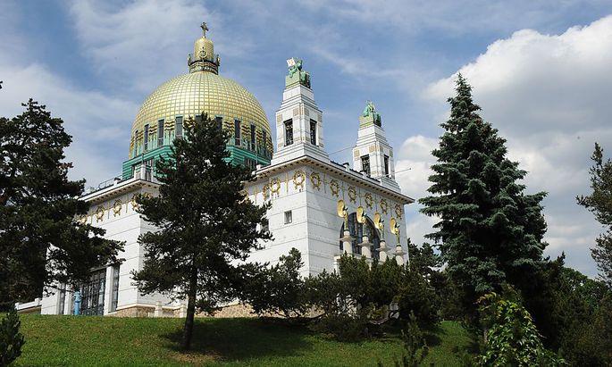 Archivbild: Die Otto-Wagner-Kirche am Steinhof, aufgenommen 2009