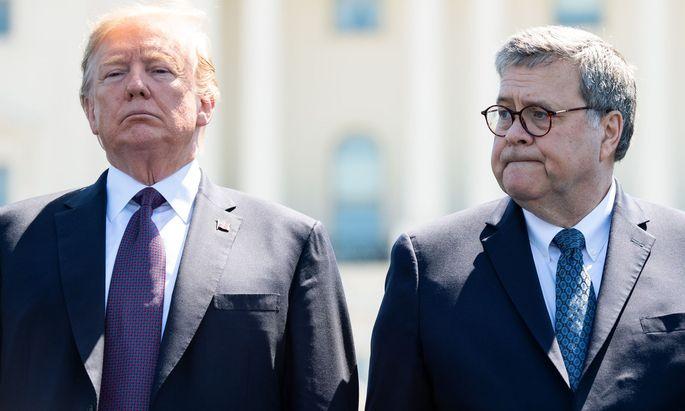 Bisher konnte sich Donald Trump auf Justizminister William Barr verlassen – bis selbst Barr die Einmischung zu viel war.
