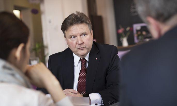 Wien wächst – das finde in der Bevölkerung nicht immer Akzeptanz, sagt SP-Bürgermeisterkandidat Michael Ludwig.