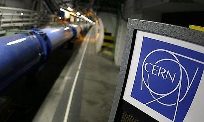 CERN UrknallSimulation Teilchenbeschleuniger