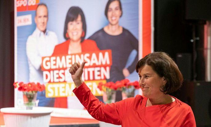 """SP-Landeschefin Birgit Gerstorfer hat einen """"beherzten Wahlkampf"""" geführt"""