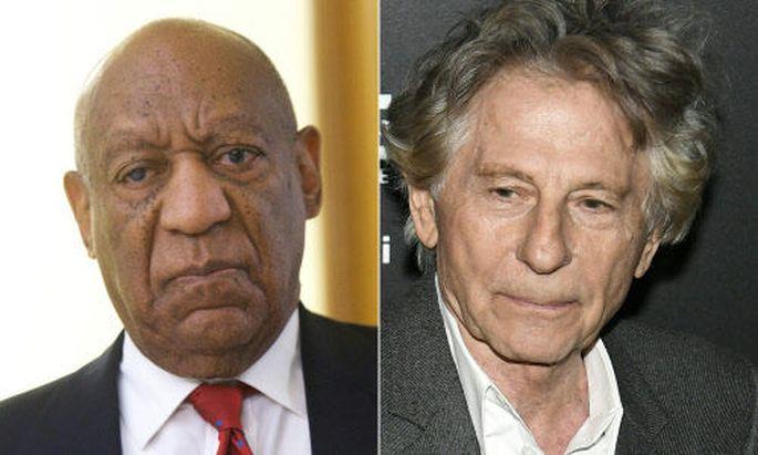 Späte Sanktion: Der 80-jährige Cosby und der 84-jährige Polanski müssen die Akademie verlassen.