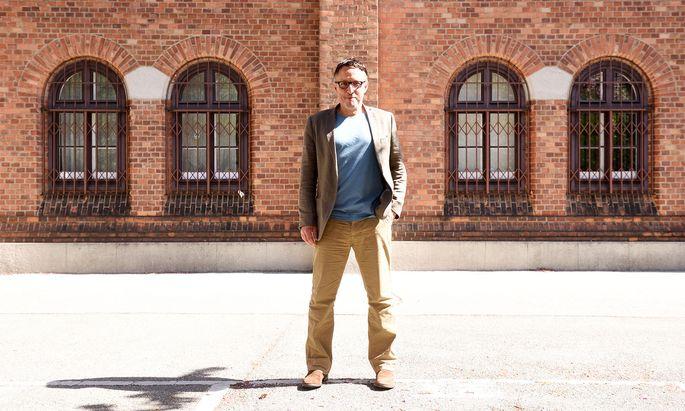 Der Brite Eugene Quinn organisiert die Vienna Walking Week, die Wiener unter anderem auch ins Arsenal (Foto) führen wird.