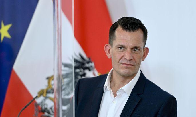 Gesundheitsminister Wolfgang Mückstein, Grüne