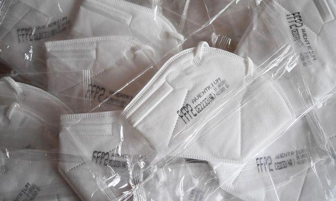 Aventrium-FFP2-Masken werden versteigert