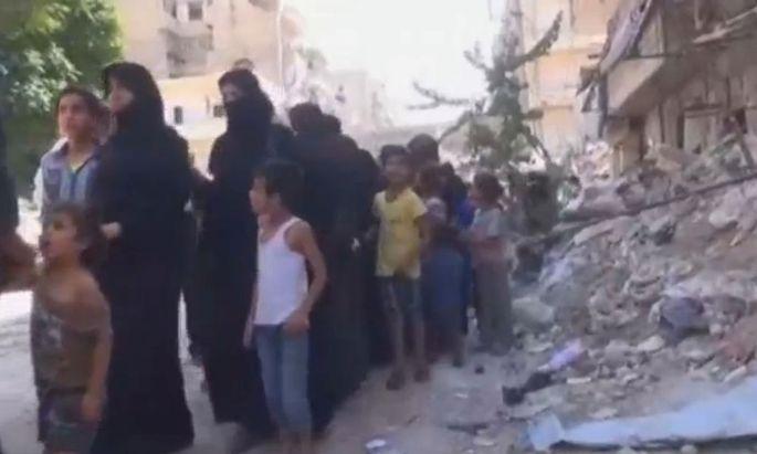 Evakuierung Aleppos